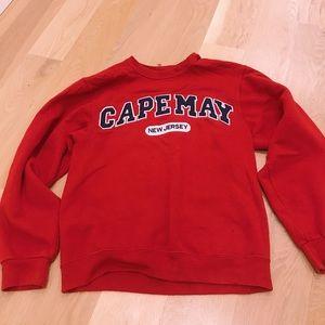 Cape may crewneck